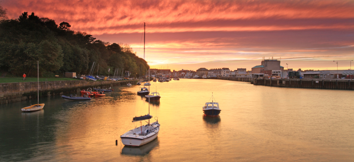 photodune 3654652 sunset weymouth harbour england s